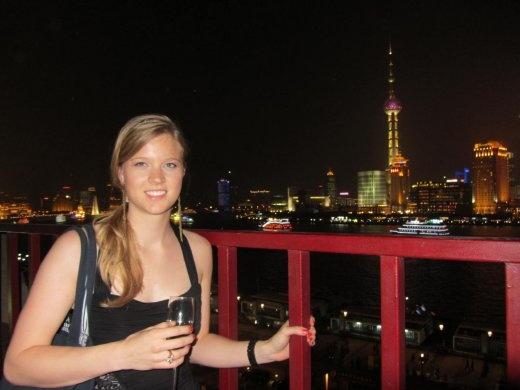 Zeal club on The Bund.  One of the best views in Shanghai.