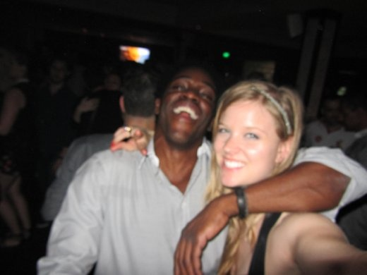 David (London) and I, met at a network event.