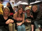 Louise (Australia), Hayley (London), Jamie (NY), Me.  The