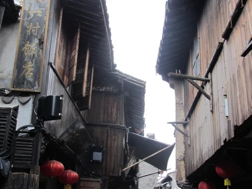 Xitang ancient wooden houses.