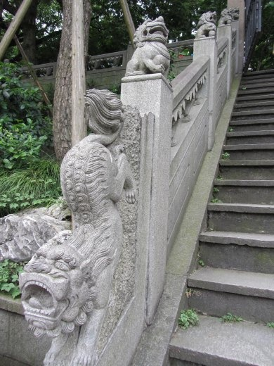 Decorative China everywhere!