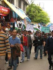 Gurkha Land protest march, Darjeeling: by will-n-raina, Views[316]