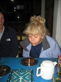 There's even chocolate cake in the Himalayas! Mum celebrates her 60th in Tatopani: by will-n-raina, Views[292]