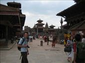 Visiting the amazing architecture of historic Kathmandu. Will at Patan's Durbar Square: by will-n-raina, Views[260]