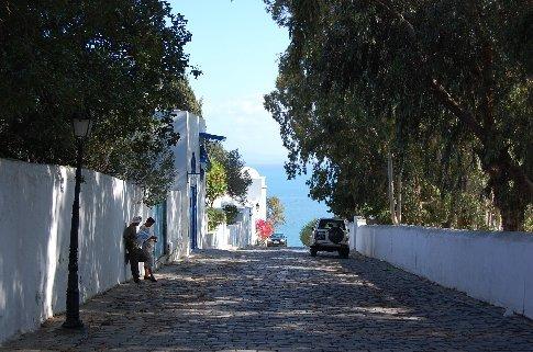 A street in Sidi Sou Said.