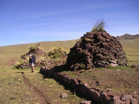 Three cairn hill