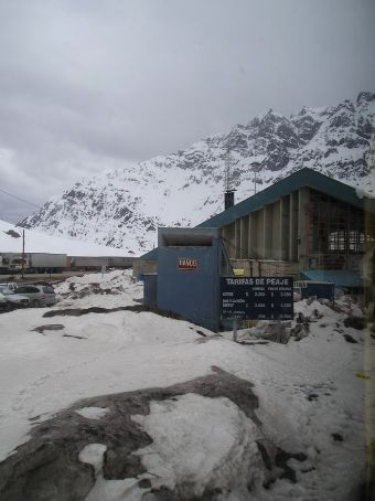 The Chilean Customs post.