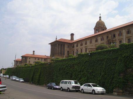 A view of the Union Buildings, Pretoria.