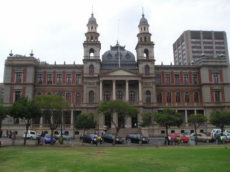 The High Court in Church Square, this where Nelson Mandela was sentanced to life imprisonment.