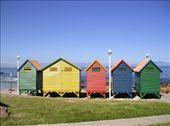 Edwardian bathing huts at False Bay. : by willlou, Views[424]