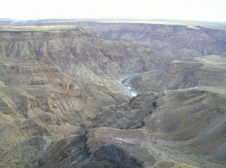 Fish River Canyon in Namibia.