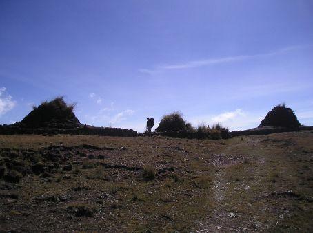 Three cairn pass.