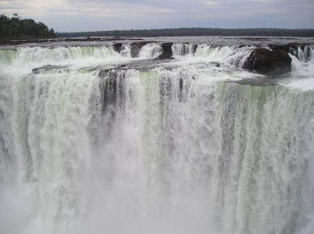 The main falls.