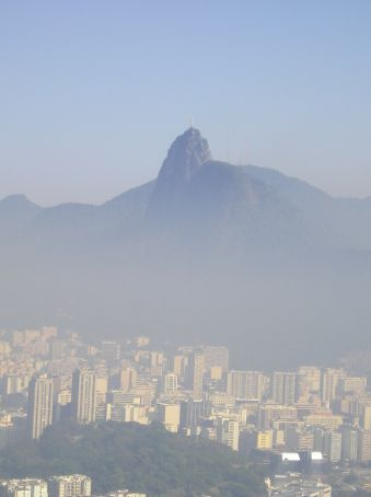 Rio through the haze.