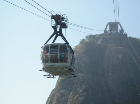The sugar loaf cable car.