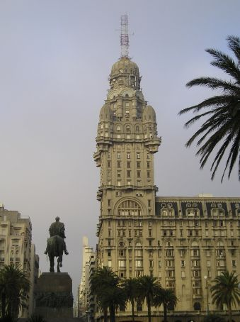 One of Montevideo's grand 30's buildings.