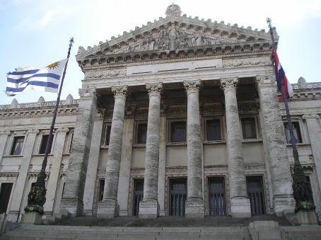 The Uruguayan Congress building.
