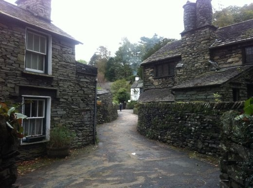 This is the little village where Mary Shelley wrote Frankenstein. Good for her.