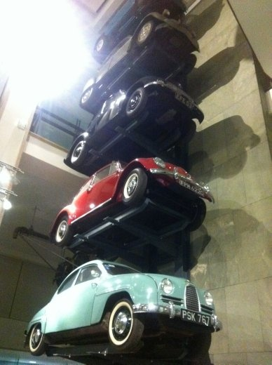I think every London tourist has taken this same photo! Something in our genes just seems to relate to a stack of cars.