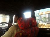 My first cab ride in India, unfortunately not my last. Hell of an experience.: by wilski, Views[118]