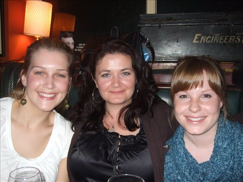 My going away in Cork, Ireland with Chelsea and Karla CA