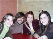 Caitlin, Colin, Lindsay, and Jen at the Astor Cafe: by wini0017, Views[235]