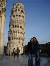 Me and Jen with the leaning tower: by wini0017, Views[172]