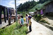 Village of Orang Asli (Indigenous Malaysians) where we came to deliver presents.: by wkwong, Views[243]