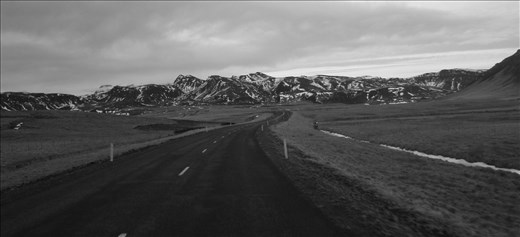 Road to the wonders of Iceland