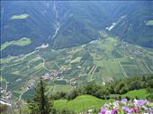 Looking down onto a town in Northern Italy - Looks like a scene from the sound of music!: by woof, Views[153]