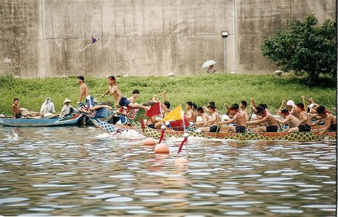 Dragon Boat Race. Photo by [Omer Simkha], Flickr.com