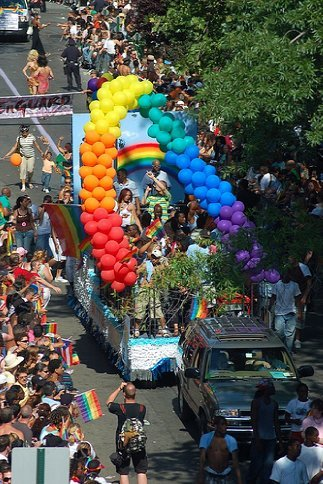 NYC Gay Pride Week. Photo by [maxintosh], Flickr.com