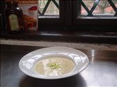 My parsnip soup ready to serve: by worldkitchen, Views[120]