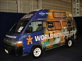 The Ambassador van at the Sydney Backpacker expo: by worldnomads-on-tour, Views[1695]