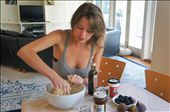 Me, recreating the farmhouse tart at home in Melbourne.: by writing_the_world, Views[1458]