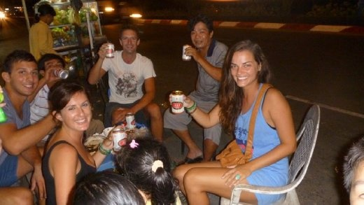 Drinking with the locals in Vung Tau