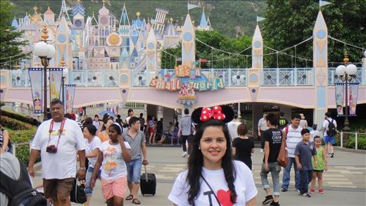 Disney Land's 'It's a Small World' ride!