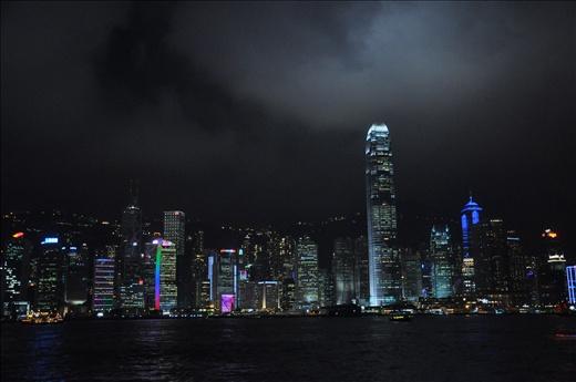 Hong Kong's nightly Laser-Light Show.