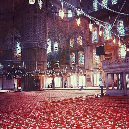 Sultan Ahmet Mosque in Istanbul, Turkey.
