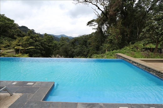 Pool at Nyungwe Forest Lodge