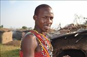 Captured a candid shot of our guide while showing us around his village: by zawadiungadi, Views[101]