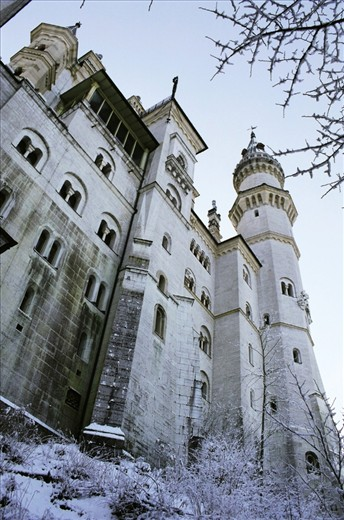 Neuschwanstein Castle ...fairy tales are made here! A feeling of grandeur and gigantic labour forces that constructed this archetectual beauty which sits high up a mountain ridge towering over the Valley below.