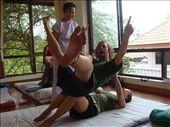 crazy days in Thai Yoga Massage school: by zenjen, Views[648]