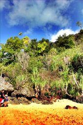Padang Bay Beach-Bali, Indonesia.  It became a  favorite beach in Bali for everyones. Here, Julia Roberts shooting