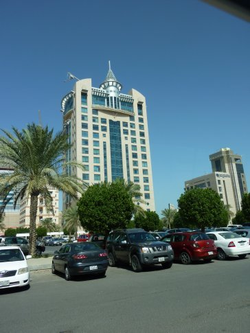 High rise block of flats