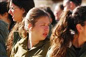 IDF Training: After high school, citizens are required to serve in the Israeli Defense Force for at least three years. This group is amidst the first of two weeks in their abrupt IDF introduction. : by zpaley, Views[262]