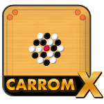 Carrom X: 3D Online Multiplayer Carrom Game icon