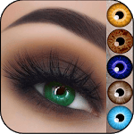 Eyes Lens color Changer Photo Editor icon