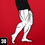 Strong Legs Workout - Thigh, Muscle Fitness 30 Day icon