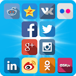 OpenSocial - App with 12 Social Networks APK